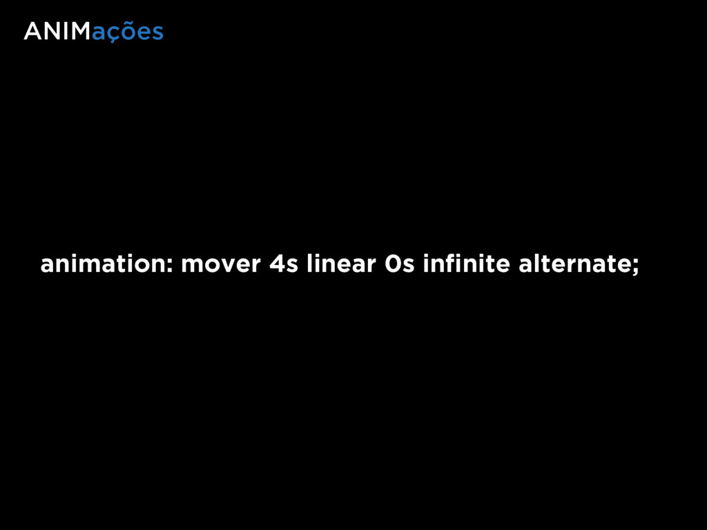 animation: mover 4s linear 0s infinite alternate...