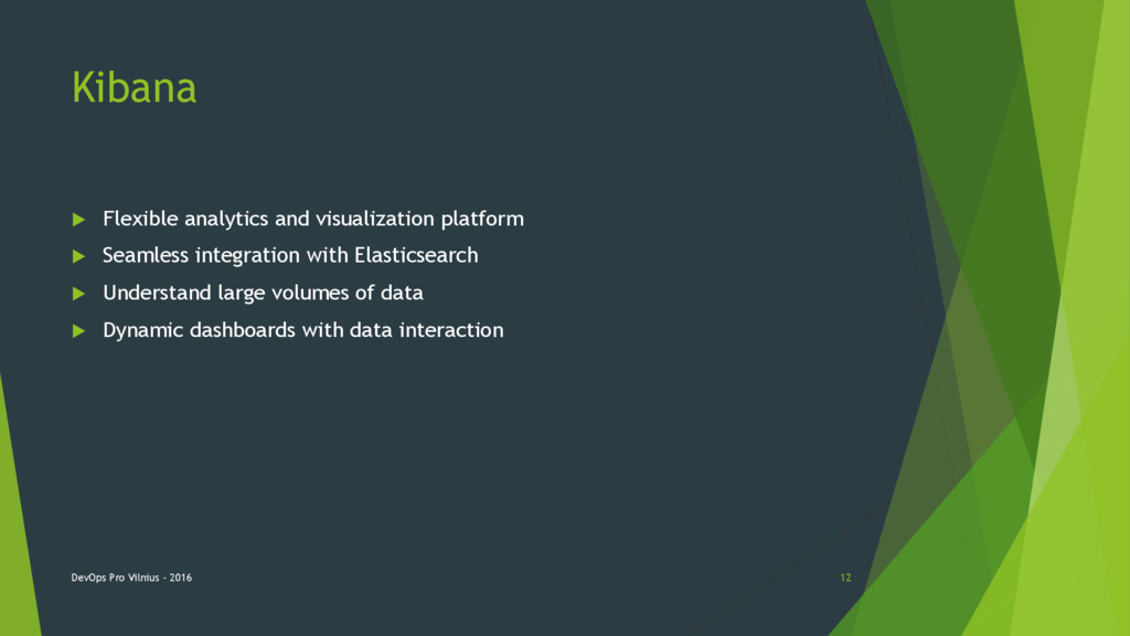 Kibana  Flexible analytics and visualization p...