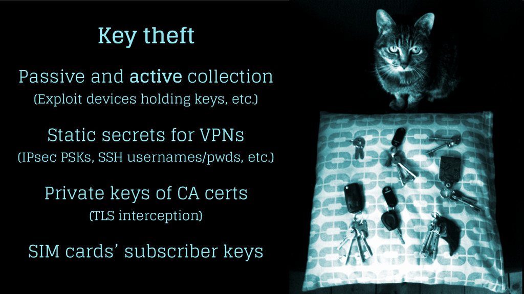 Key theft Passive and active collection (Exploi...