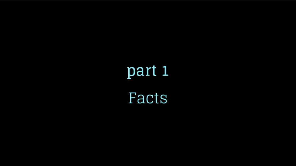 part 1 Facts
