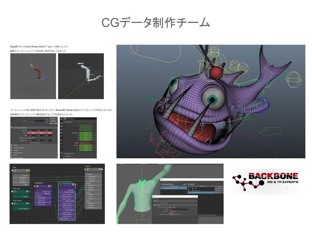 CGデータ制作チーム