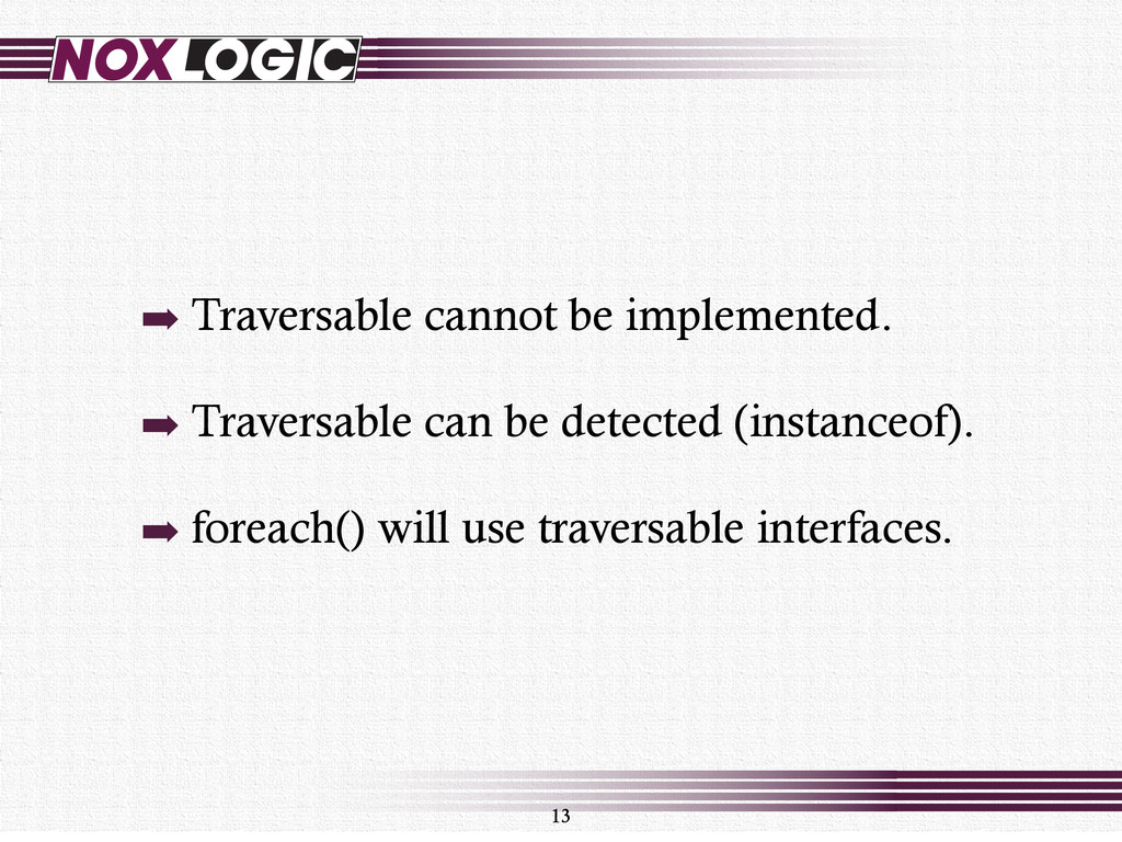 ➡ Traversable cannot be implemented. ➡ Traversa...