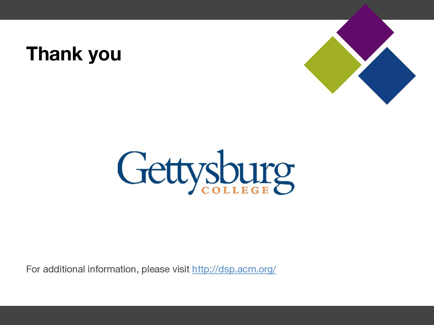 About ACM § ACM, the Association for Computing ...