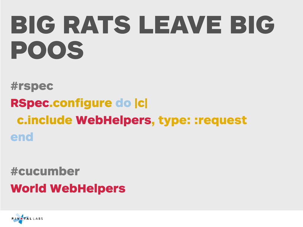 BIG RATS LEAVE BIG POOS #rspec RSpec.configure d...