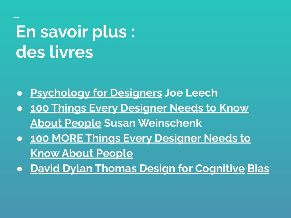 ● Psychology for Designers Joe Leech ● 100 Thin...