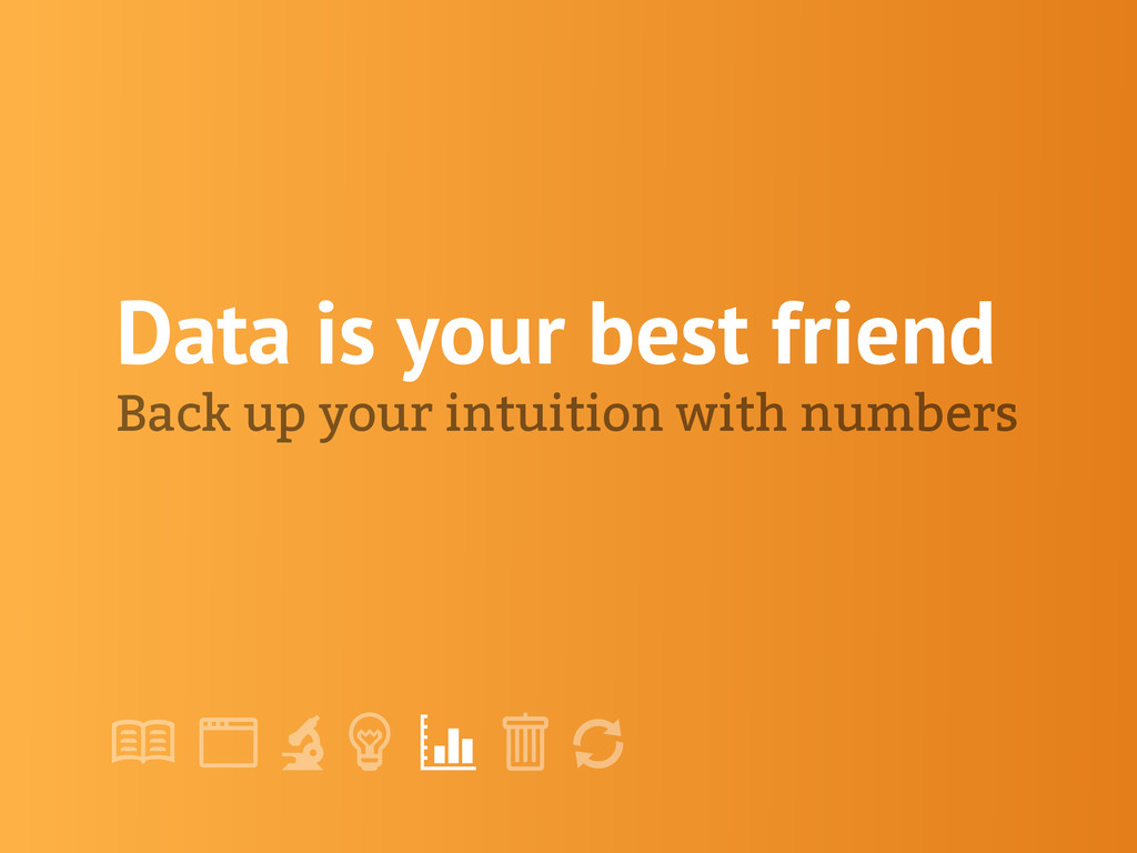"! "" # $ % & ' Data is your best friend Back up ..."