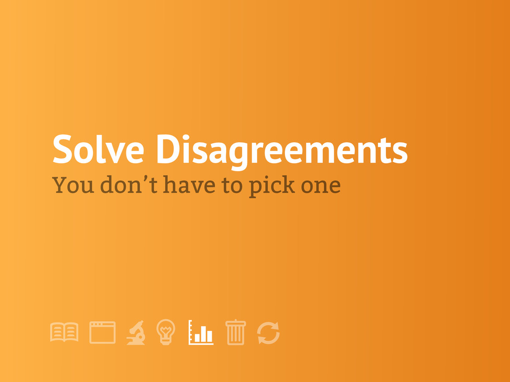 "! "" # $ % & ' Solve Disagreements You don't hav..."