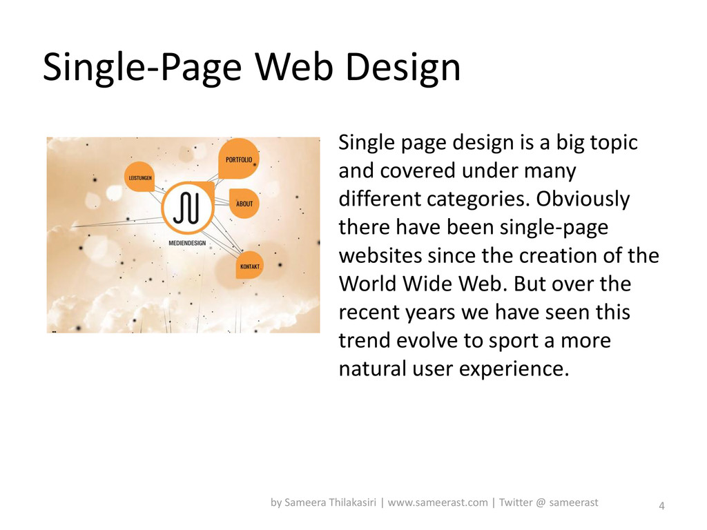 Single-Page Web Design Single page design is a ...
