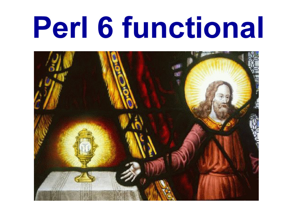 Perl 6 functional