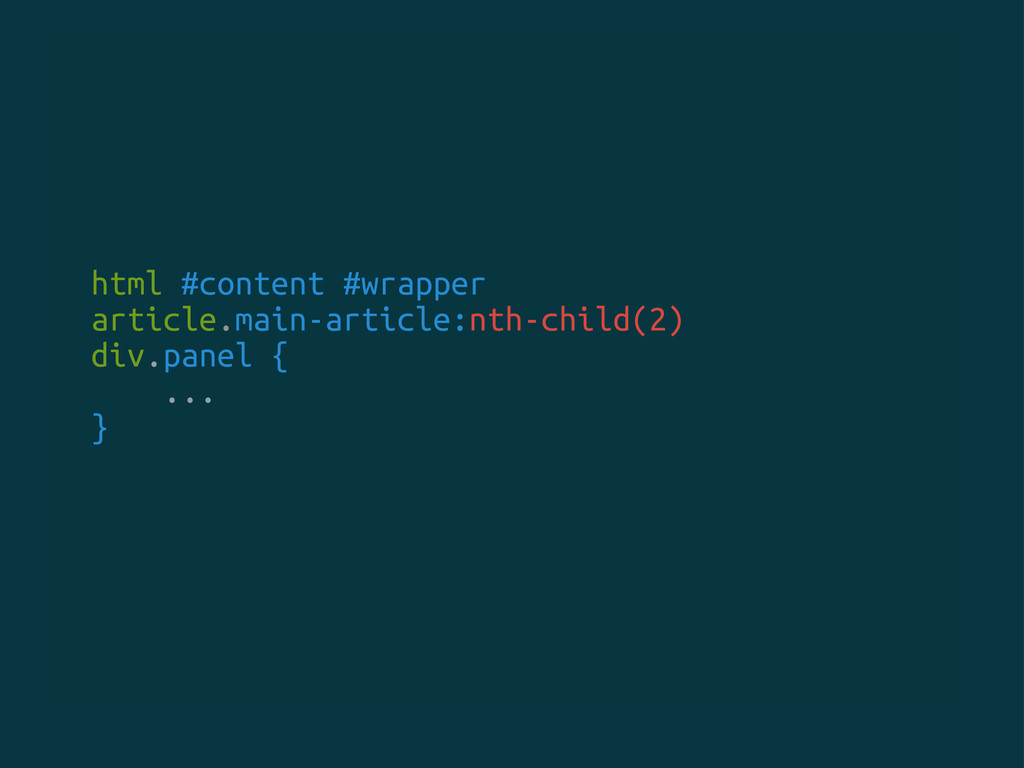 html #content #wrapper article.main-article:nth...