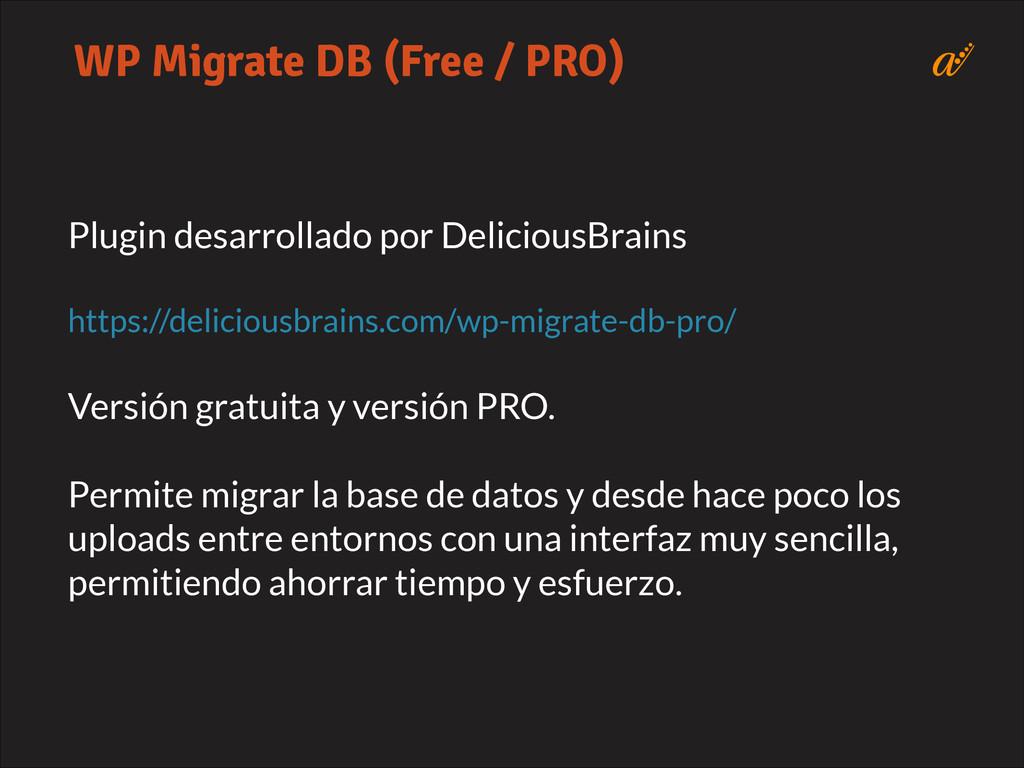 Plugin desarrollado por DeliciousBrains ! https...