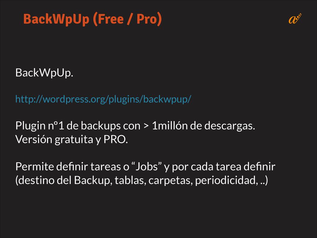 BackWpUp.   http://wordpress.org/plugins/back...