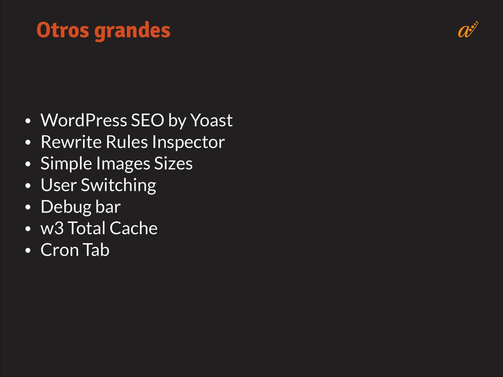 • WordPress SEO by Yoast • Rewrite Rules Inspec...