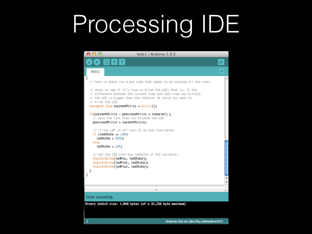 Processing IDE