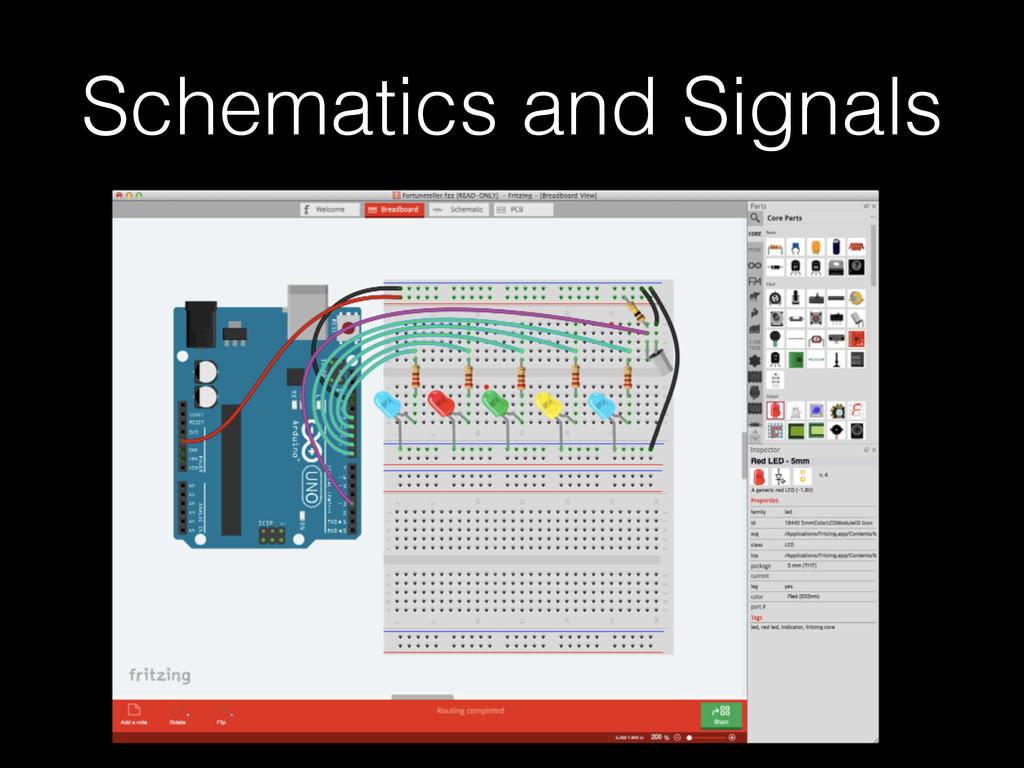 Schematics and Signals