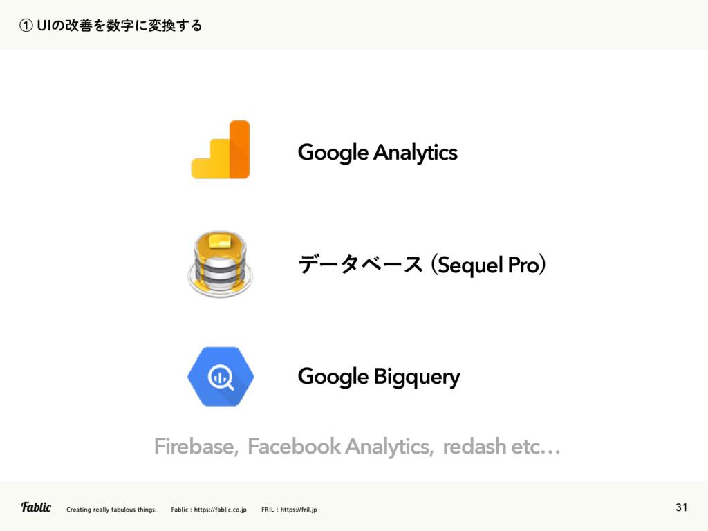 31 ᶃ6*ͷվળΛʹม͢Δ σʔλϕʔε Sequel Pro  Google B...