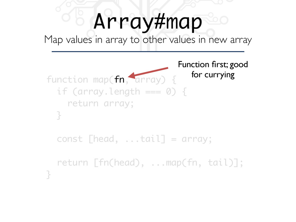 Array#map Map values in array to other values i...