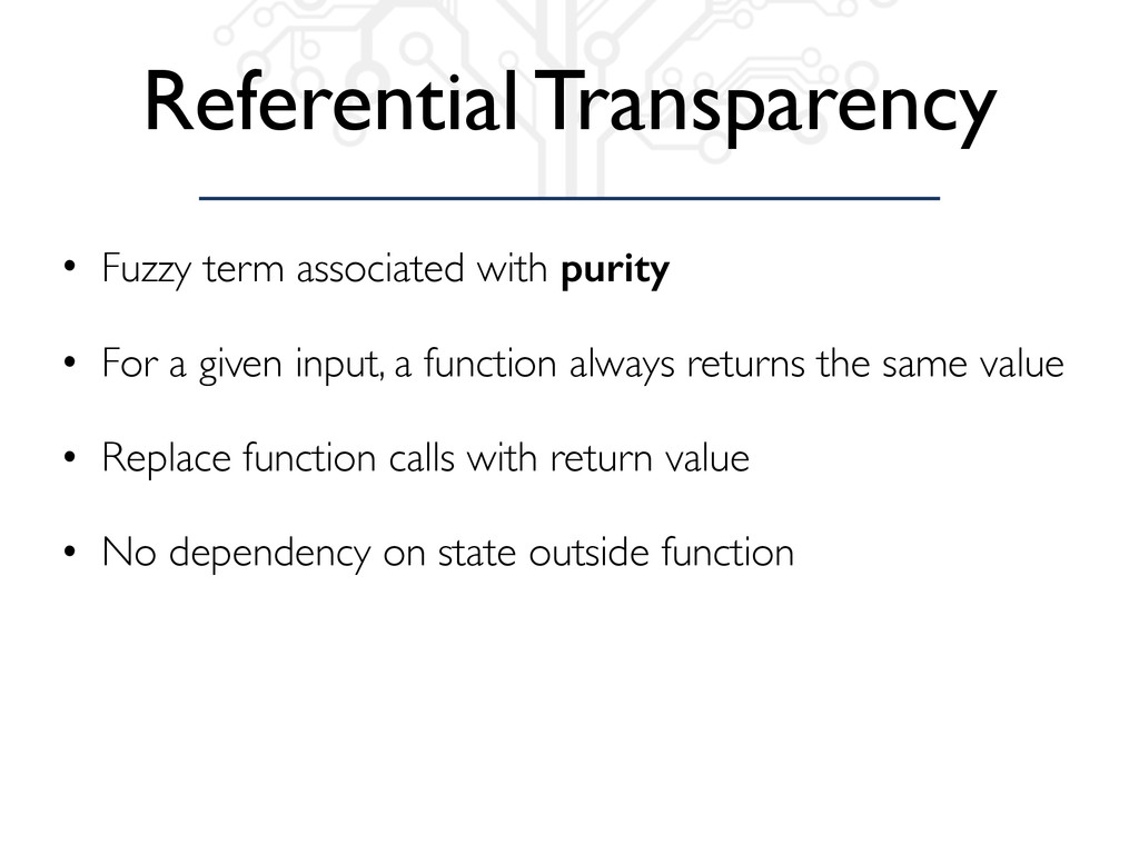 Referential Transparency • Fuzzy term associate...