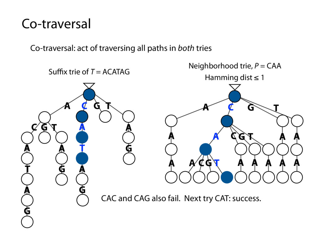 Co-traversal Co-traversal: act of traversing al...
