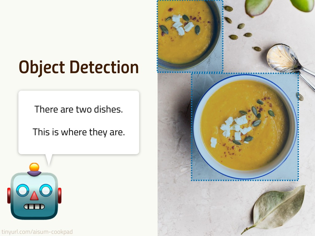 tinyurl.com/aisum-cookpad Object Detection Ther...