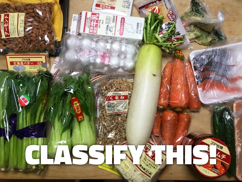 tinyurl.com/aisum-cookpad CLASSIFY THIS!