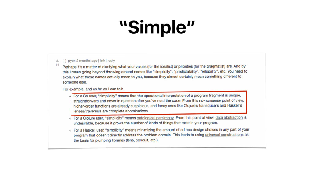 """Simple"""