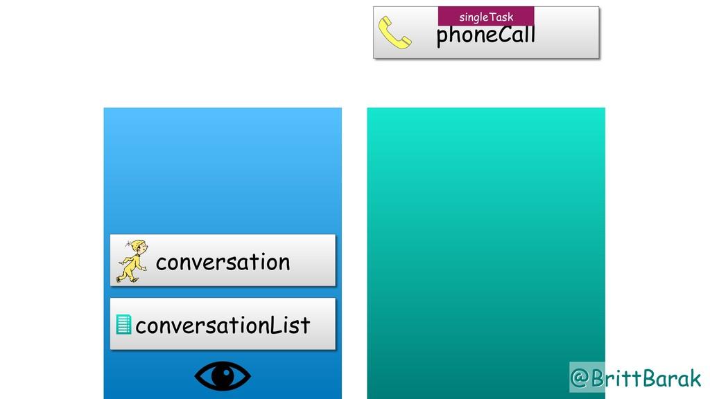 @BrittBarak conversationList conversation phone...