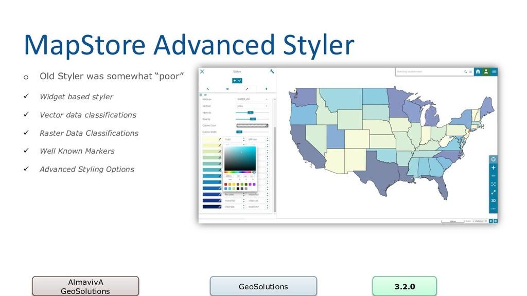 MapStore Advanced Styler AlmavivA GeoSolutions ...