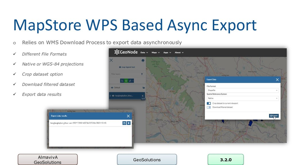 MapStore WPS Based Async Export AlmavivA GeoSol...