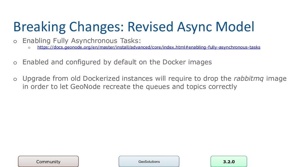 Breaking Changes: Revised Async Model o Enablin...