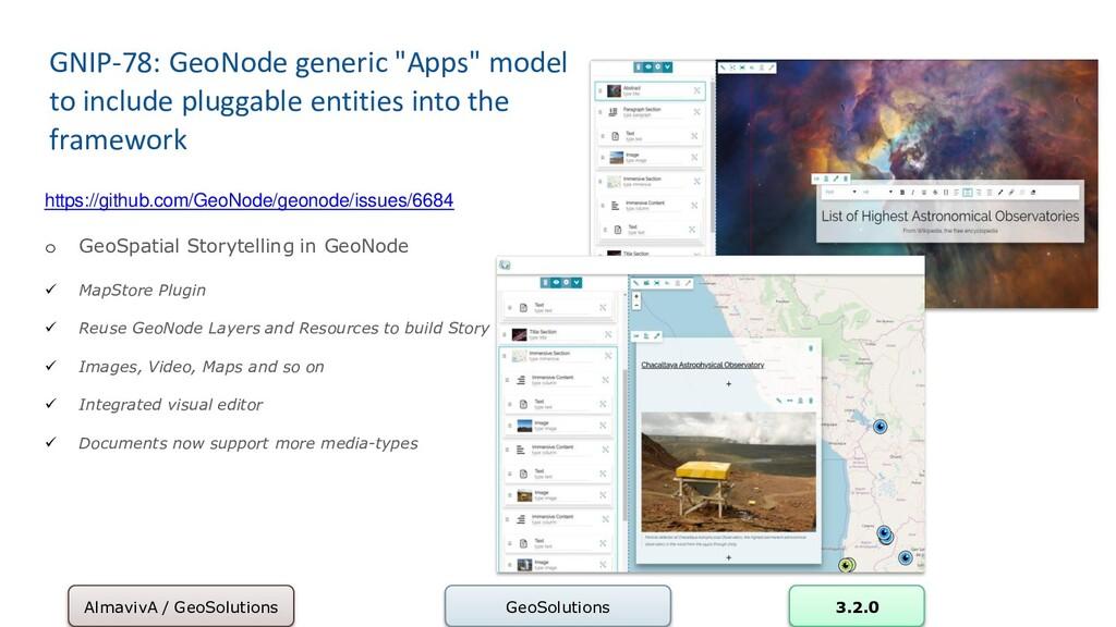 """GNIP-78: GeoNode generic """"Apps"""" model to includ..."""