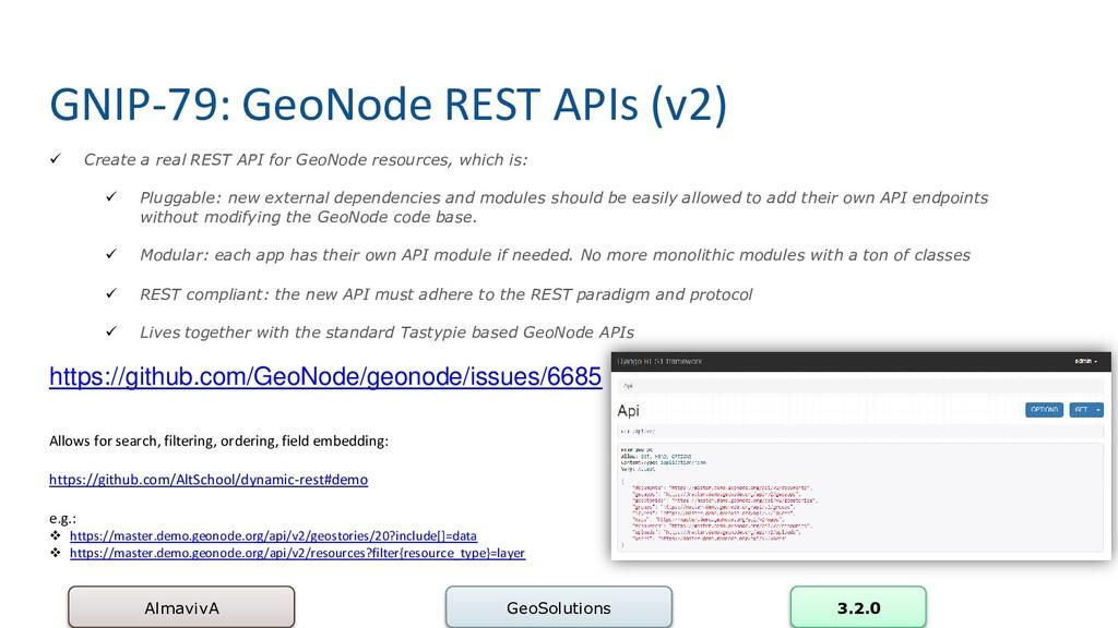 GNIP-79: GeoNode REST APIs (v2) AlmavivA GeoSol...