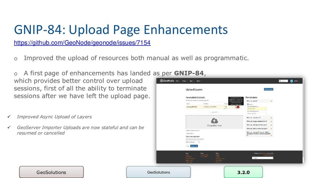 GNIP-84: Upload Page Enhancements https://githu...