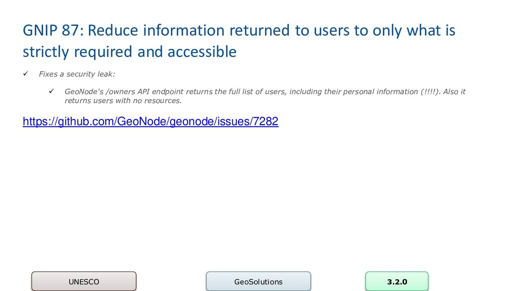 GNIP 87: Reduce information returned to users t...