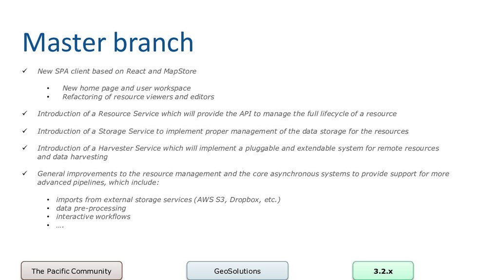 Master branch GeoSolutions 3.2.x ✓ New SPA clie...