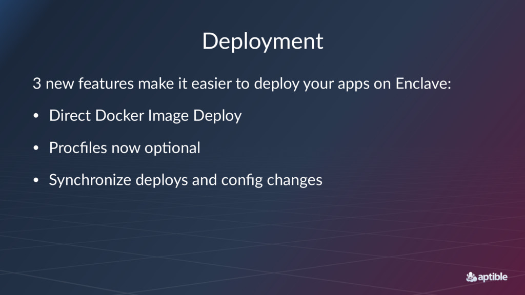 Deployment 3 new features make it easier to dep...