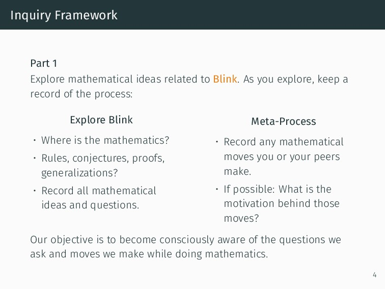 Inquiry Framework Part 1 Explore mathematical i...