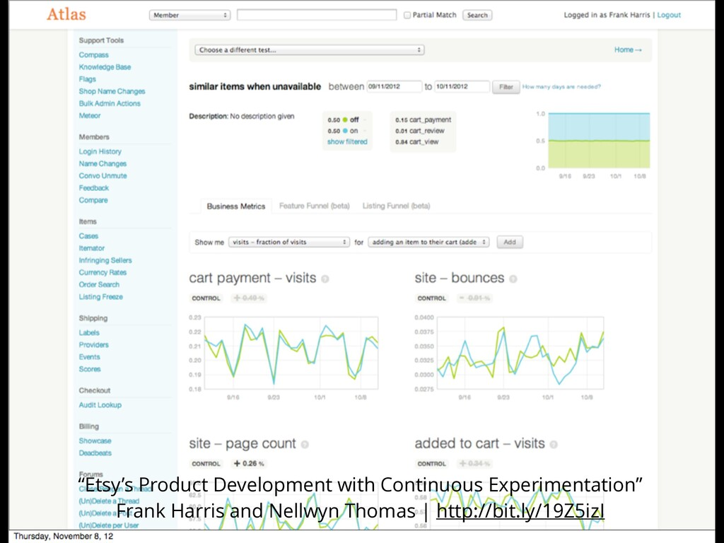 """""""Etsy's Product Development with Continuous Exp..."""