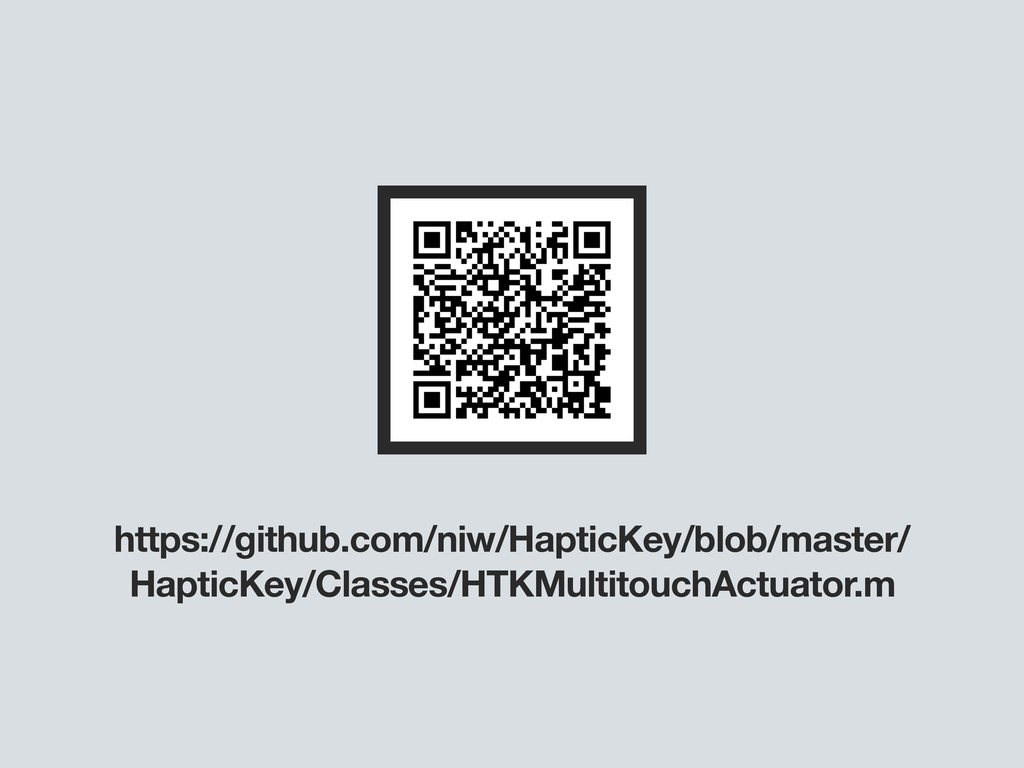 https://github.com/niw/HapticKey/blob/master/ H...