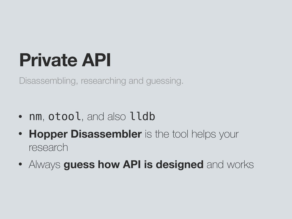Disassembling, researching and guessing. Privat...