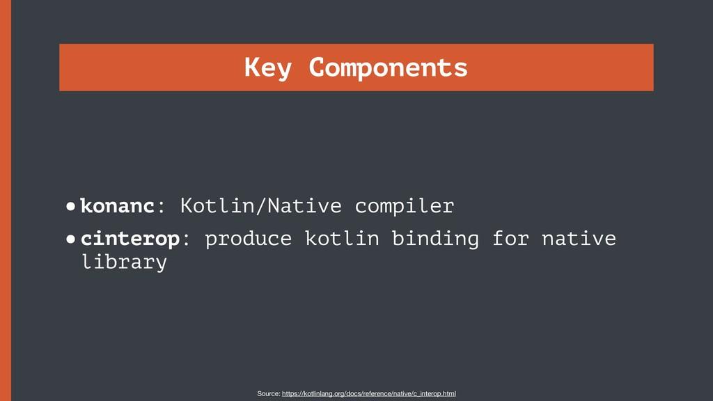 Key Components •konanc: Kotlin/Native compiler ...