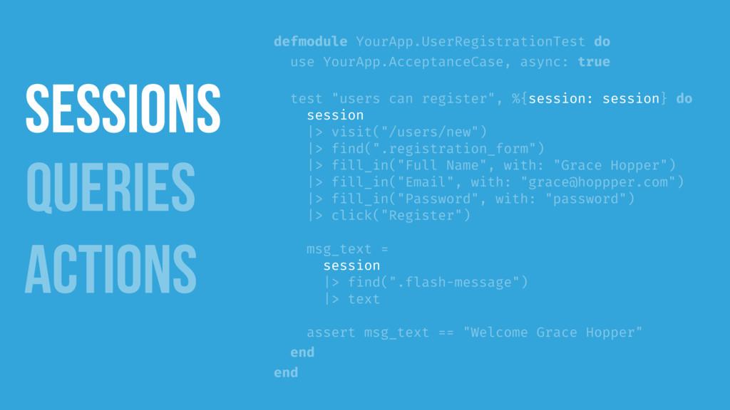 defmodule YourApp.UserRegistrationTest do use Y...