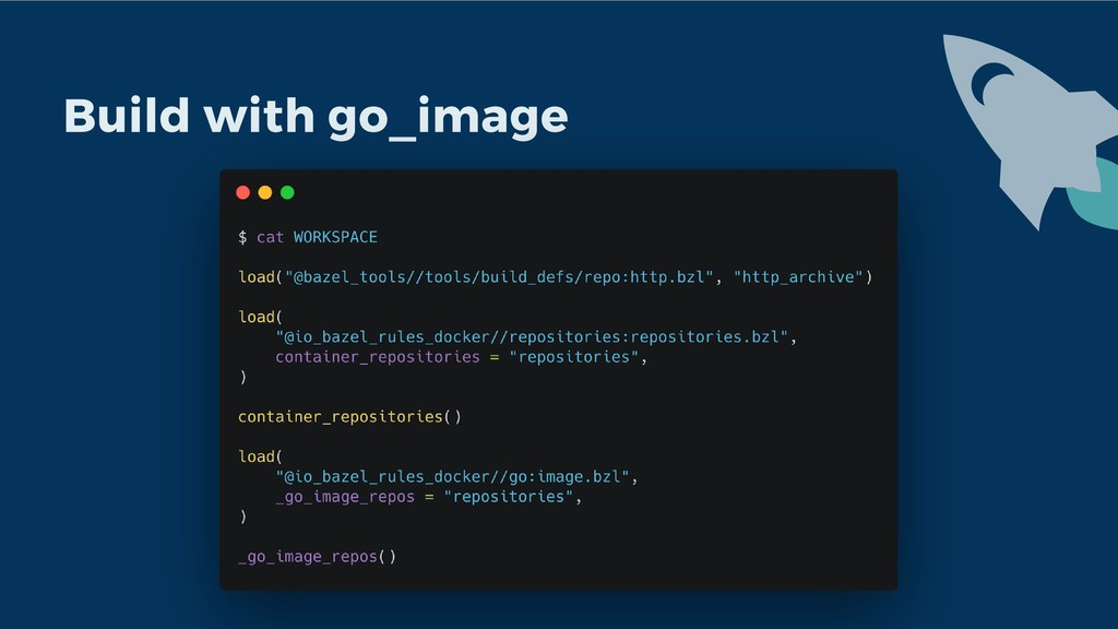 Build with go_image