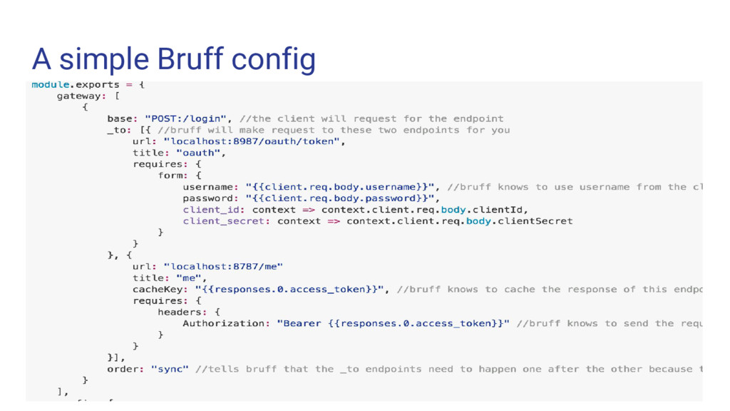 A simple Bruff config