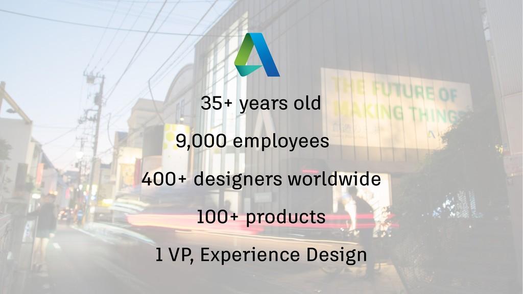 400+ designers worldwide 1 VP, Experience Desig...