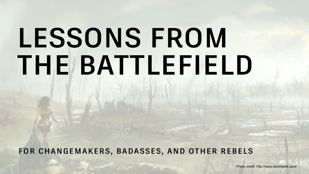 LESSONS FROM 
