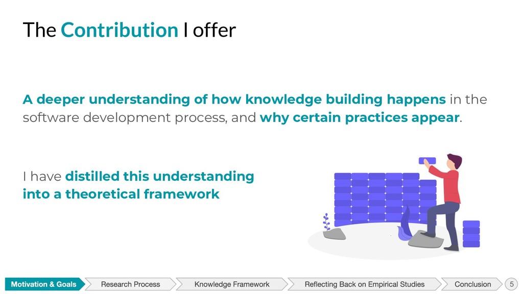 A deeper understanding of how knowledge buildin...