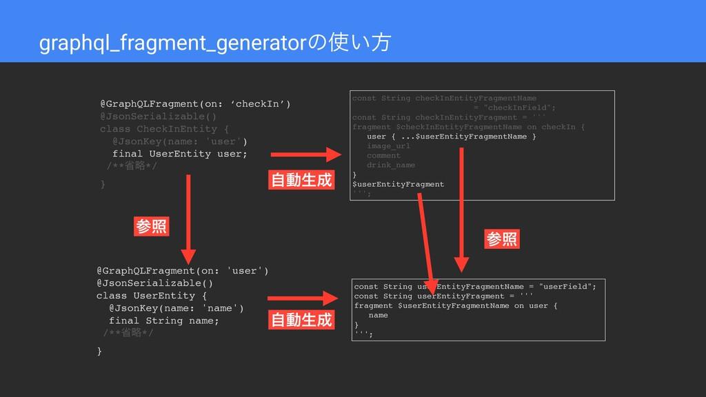 graphql_fragment_generatorͷ͍ํ @GraphQLFragment...