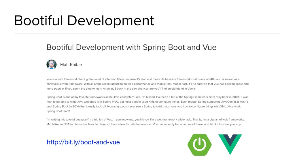 Bootiful Development http://bit.ly/boot-and-vue