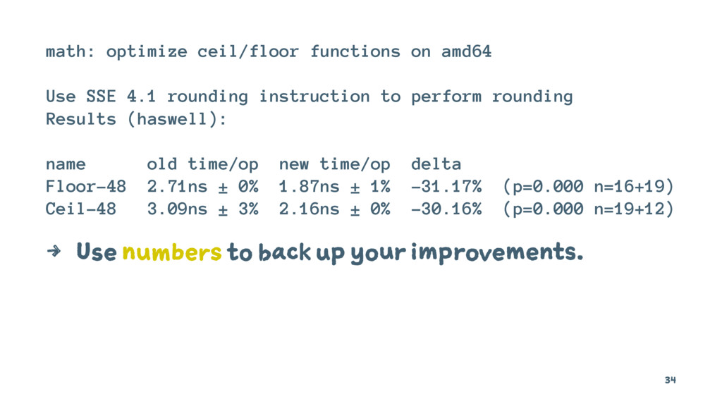 math: optimize ceil/floor functions on amd64 Us...